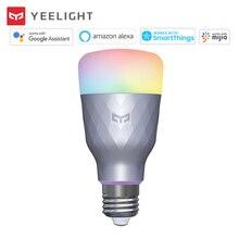 Yeelight 1SE E27 6W RGBW Smart LED Bulb Color Light Dimmable Timer AC 100V 240V Wifi APP Control Work with Google Mi Home alexa