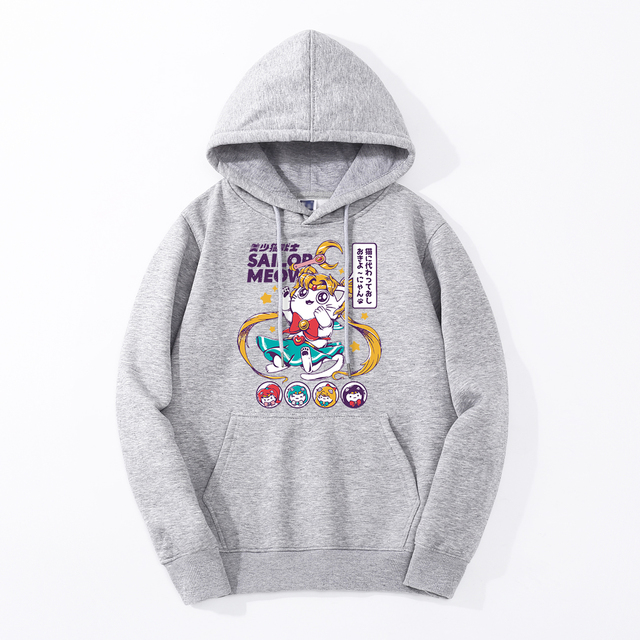 SAILOR MEOW THEMED HOODIE (8 VARIAN)