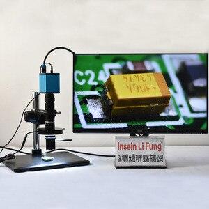 Image 2 - Full HD Sony Cảm Biến Điện Tử Video 3D Kiểm Tra Kính Hiển Vi 2D 3D Chuyển Đổi Quang Kính Phóng Đại Hình Ảnh Quay Video Ghi Âm