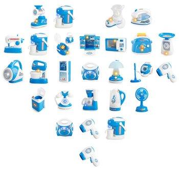 Kuchenka mikrofalowa pralka lodówka udawaj sprzęt do gry gry dla dzieci kuchnia sprzęt agd chłopiec dziewczyna zabawki tanie i dobre opinie Transport Zawodów Role Pretend Play Toy plastic pink blue 115*65*60MM