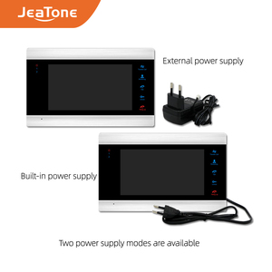 Image 5 - JeaTone Smart WiFi Tuya 7 Home Video Door Phone System with Voice Message/Motion Detection/MP4 Player, Support Remote Control