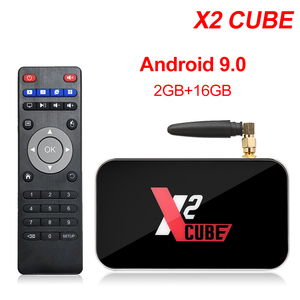 Image 2 - X2 Pro TV Box Android 9.0 4GB RAM 32GB Smart TV Amlogic S905X2 X2 cube 2GB 16GB décodeur 2.4G/5G WiFi 1000M 4K lecteur multimédia