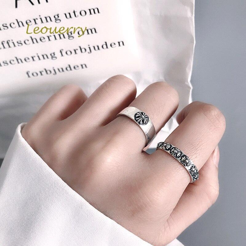 Купить кольца leouerry в винтажном стиле для женщин открытые кольца