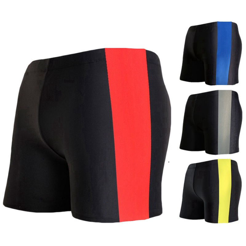 Amazon Wholesale Fashion Men Sweat-wicking Swimming Trunks Hot Selling Swimming Pool Hot Springs Men Boxer Comfortable Swimming