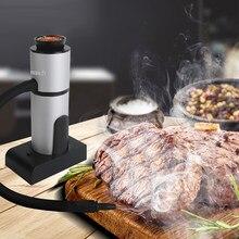 Générateur de fumée froide pour aliments, pistolet à fumer de Cuisine moléculaire Portable, brûlure de viande, cuisson de maison pour barbecue gril fumeur de bois
