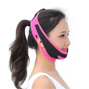 Image 4 - Double Chin Face Bandage Slim Lift Up Anti Wrinkle Mask Strap Band V Face Line Belt Women Slimming Thin Facial Beauty Tool
