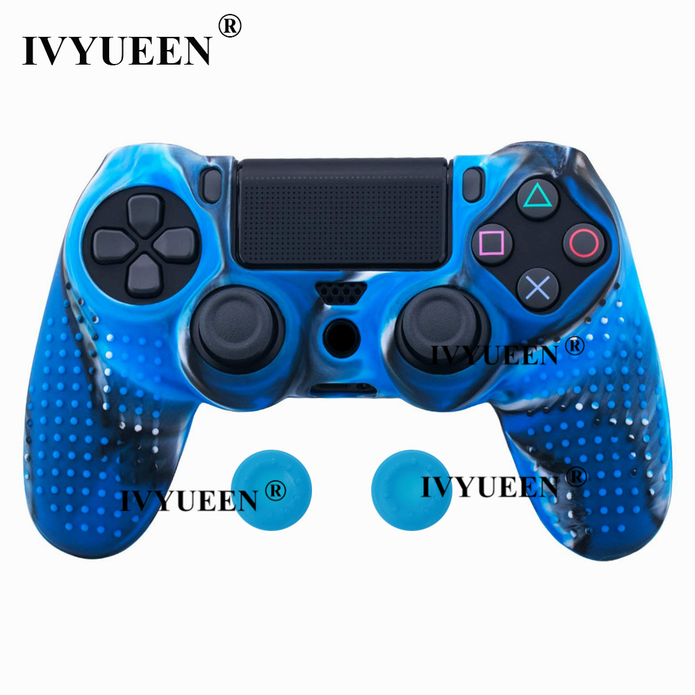 for Sony PlayStation dualshock 4 ps4 pro slim controller silicone case skin 07
