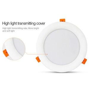 Image 4 - 18W RGB + CCT HA CONDOTTO LA luce Da Incasso dimmerabile intelligente vita Interna camera luce AC 220V può del telefono Mobile/2.4G remote/wifi/controllo vocale