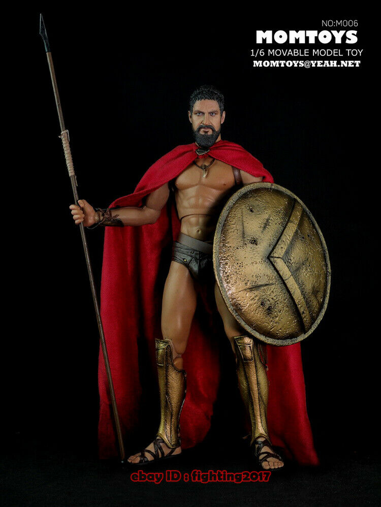 MOMTOYS Ancient Greek Warrior The Spartan 300 King Spartacus 1/6 Figure INSTOCK