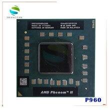 Amd phenom cpu quad core p960 hmp960sgr42gm cpu 1.8g clocked 2m soquete s1 notebook cpu