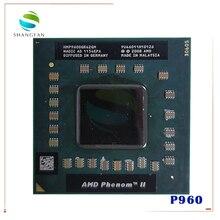 Четырехъядерный процессор AMD Phenom P960 HMP960SGR42GM, ЦП 1,8G, синхронизированный, 2 Мб, разъем S1, ЦП для ноутбука