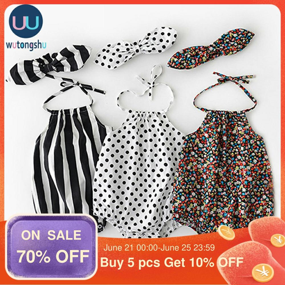 Hipapa Summer Baby Girl Rompers Floral Newborn Baby Clothes 0-2Y Cotton Brand Design Romper Jumpsuit Summer One-Pieces