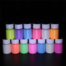Fluorescent-Powder Painting Acrylic-Paint Luminous-Pigment Gold-Glowing Glow-In-The-Dark