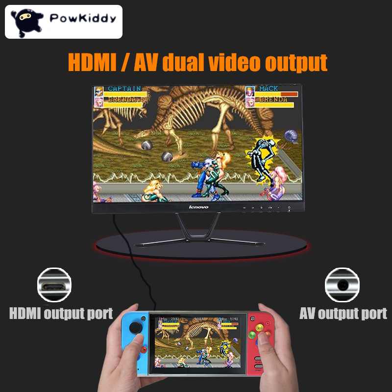 PSP רטרו משחק 5.0 אינץ משחק וידאו קונסולת 40GB כף יד משחק נגן מובנה 3000 Classic Arcade משחקים עבור SNE / GBA / SFC / SMD / ZIP PSP (3)