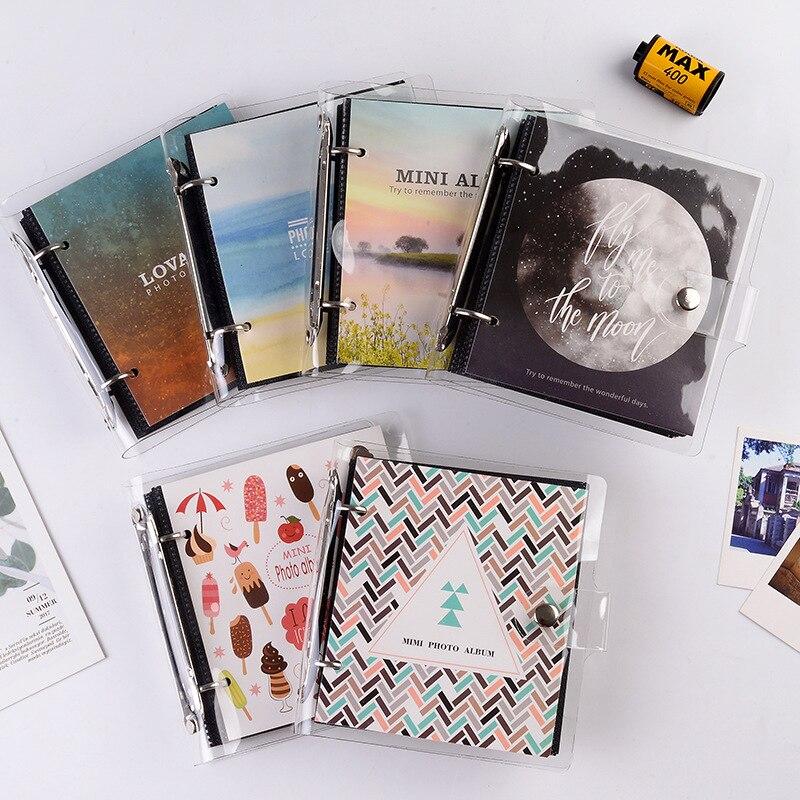 100 карманов 3 дюйма мини пленка фото бумага альбом памятная книга для Fujifilm Instax Mini 8 9 Polaroid фильм имя держатель для карт Фотоплёнка      АлиЭкспресс