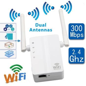 original xiaomi pro 300m 2 4g wifi amplifier with 2 antenna WiFi Repeater 300m WiFi Wireless Signal Amplifier Amplifier WiFi Intensifier AP Router Wifi Signal Amplifier With 2pcs Antenna