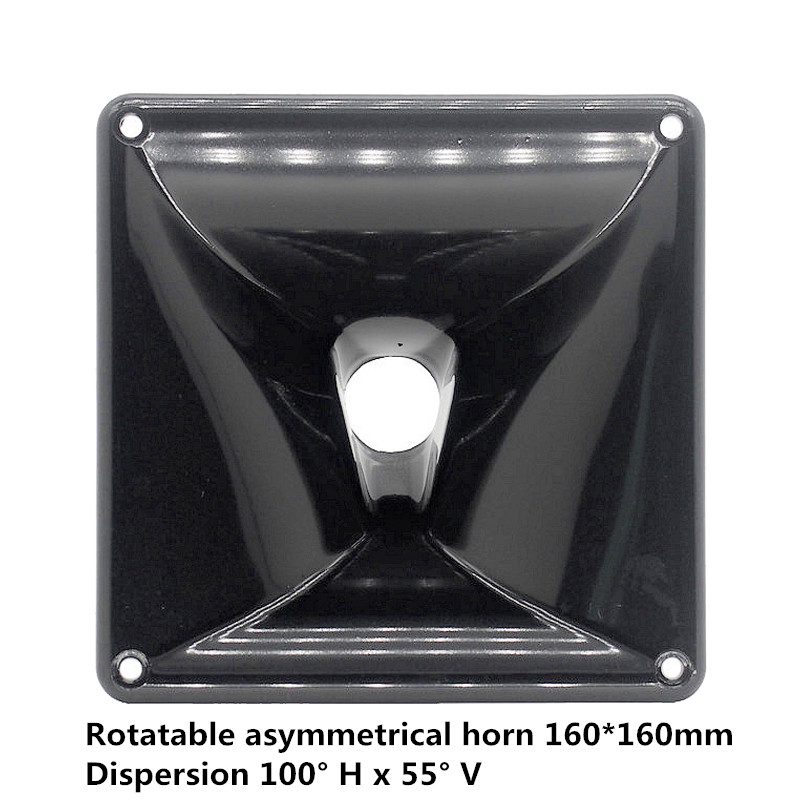 Finlemho Tweeter Speaker Accessories Treble Horn Nexo 160*160 For Professional Mixer Audio Home Theater Karaoke HiFi PS160 2PCS