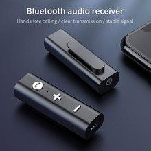RAXFLY 블루투스 5.0 수신기 3.5mm 잭 이어폰 무선 어댑터 블루투스 Aux 오디오 음악 송신기 헤드폰