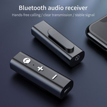 RAXFLY Bluetooth 5.0 Receiver For 3.5mm Jack Earphone Wireless Adapter Bluetooth Aux Audio Music Transmitter For Headphone