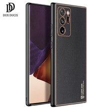 Voor Samsung Galaxy Note 20 Ultra Case Shockproof Pu + Tpu Beschermhoes Voor Galaxy S21 S21 Ultra Galaxy Note 20 케이스 Dux Ducis