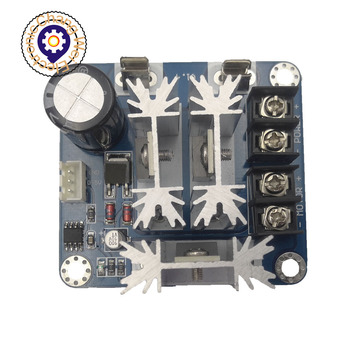 DC motor controller stepless speed regulation 6V-90V universal pwm DC motor speed controller PLC 15A image