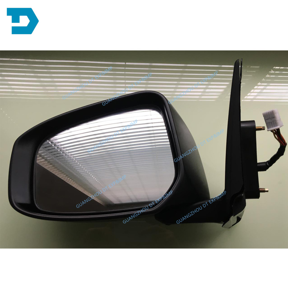 Купить с кэшбэком LHD No Painting Auto Fold Side Mirror 7 Wires for Lancer Ex Rear Mirror with Turning Signal Lamp Glass Heat 9 WIRE FOR LANCER GT