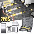 Kit de herramientas de reparación del Panel del coche de los martillos de los golpes del Panel 7 piezas