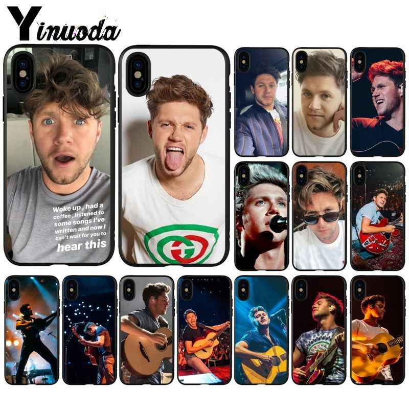 Yinuoda Tiket Niall Horan Warna-warni Lucu Aksesoris Case untuk Apple Iphone 8 7 6 6S Plus X XS Max 5 5S SE XR 11 11pro Max Cover