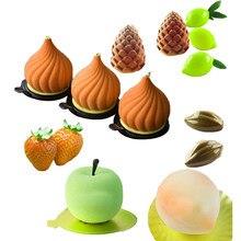 SHENHONG – moule à gâteau antiadhésif en Silicone, 28 Types de Mousse de fruits, ustensiles de cuisine, outils de décoration de pâtisserie et de Dessert