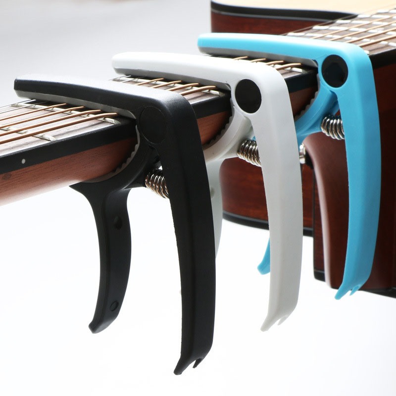 Guitar Capo For 6 String Acoustic Classic Guitar Electric Guitar Tuning Clamp Musical Instrument Ukulele Bass Guitar Accessories