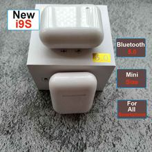 i7s I9s TWS i10 Mini Wireless Bluetooth 5.0 Earphone Stereo Earbud Headset With Charging Box Mic for apple IPhone 8 ear(China)