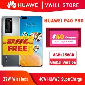 Бесплатная доставка службой DHL, телефон с экраном 6,58 дюйма, Kirin 990, 8 Гб 256 ГБ, Bluetooth 5,1, разблокировка по лицу, Wi-Fi 6