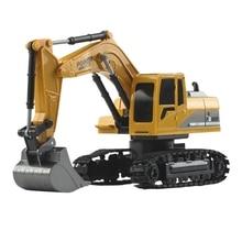 6CH Remote Control Excavator,Remote Control Truck RC Tractor Construction Vehicl