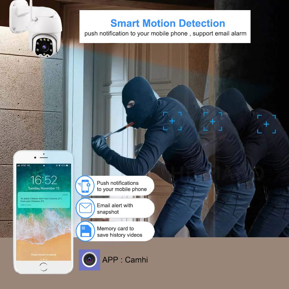 Le Jeune moderne.Accueil-Caméra motorisé 3G/4G ou WIFI HD (1080P) à vision nocturne-Caméra 4G ou WIFI au choix. Même si vous n'avez pas de réseaux wifi, comme par exemple sur votre maison de campagne, insérez une carte SIM 3G 4G et surveillez votre résidence secondaire à partir de votre téléphone. Caméra HD 1080P motorisé (PTZ) à contrôle à distance à partir de votre téléphone ou tablette.