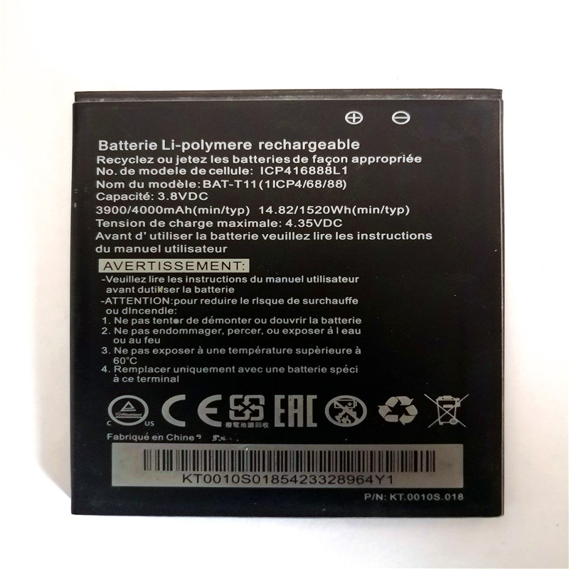 4000mah BAT-T11 Z630 Mobile Phone Battery For Acer Liquid Battery With Phone Stander For Gift