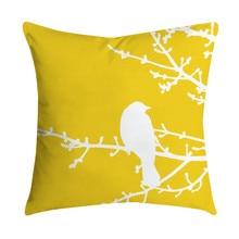 Cojines Pineapple Leaf Yellow Throw Pillow Sofa Car Waist Cushion Home Decor Kussenhoes de Coussin Pillowcases