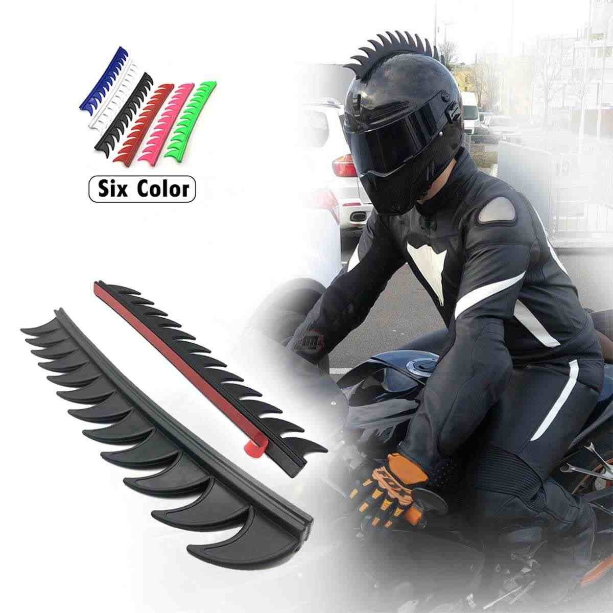 Reflective Decals For Rubber Helmet Mohawk Warhawk Spikes Saw Dirtbike Motorcycle Bike