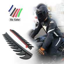 Reflective Decals For Rubber Helmet Mohawk Warhawk Spikes Saw Dirtbike Motorcycl