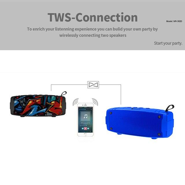 Nuevo altavoz portátil Bluetooth, Mini columna inalámbrica para teléfono, ordenador, altavoz para exteriores, estéreo, música, sonido envolvente, altavoz de graves