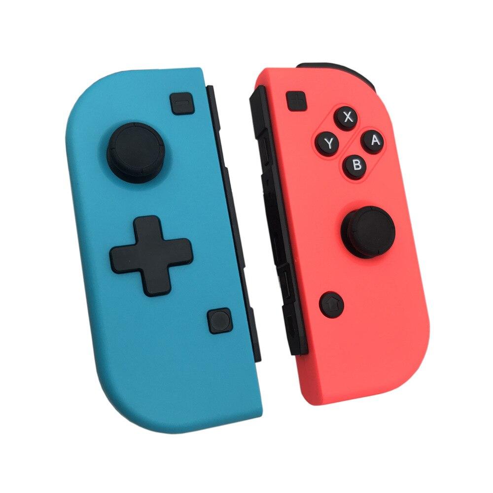 Blau + Rot Drahtlose Bluetooth V 3,0 Gamepads Joystick Für NS Nitendo Schalter Pro Controller