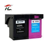 YLC 1set 122XL tinte patronen kompatibel Für HP122 XL Für HP Deskjet 1000 1050 1050A 1510 2000 2050 3000 3050 drucker