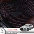 LHD автомобильные коврики для Lexus ES350 2013 2014 2015 2016 2017 индивидуальные автомобильные кожаные ковры Автомобильные ковры аксессуары