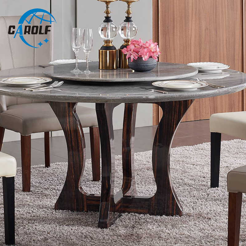 Dining Table Set Room Decorative Modern Dining Table Round Marble Table Top With Solid Wood Legs Dining Tables Aliexpress