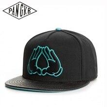 Snapback Hat Sun-Baseball-Cap PANGKB Bone Brooklyn Black Women Casual Brand Adult Cotton