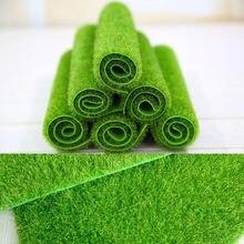 15x1 5/30x30cm симулятор мха зеленых растений газон искусственный