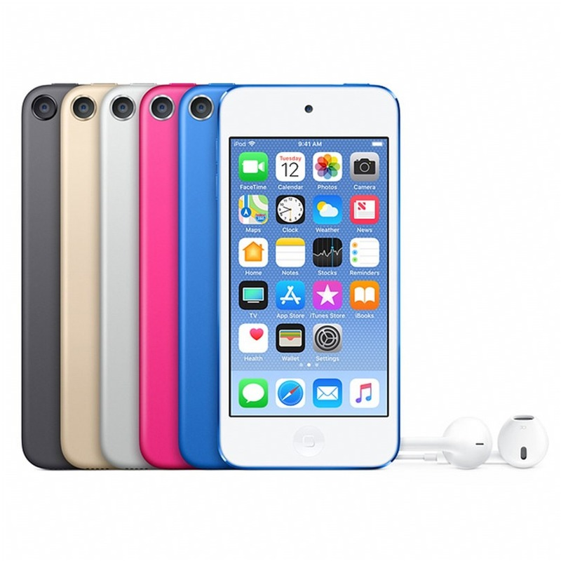 Authorization Brand New Original Apple Ipod Touch6 Dual Core 4.0Inches 1GB RAM 16/32/64/128GB ROM 8MP Camera C003 image