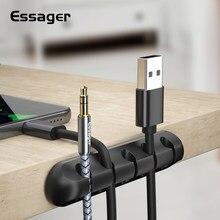 Zacisk do kabli biurko Tidy organizator do przewodów telefon drut USB kabel do ładowarki uchwyt do mocowania przewodów ugreen protector Organizer do kabli drut