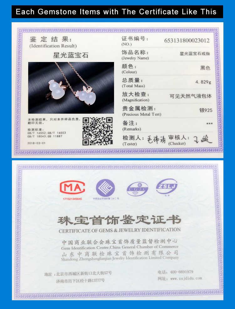 MeiBaPJ คลาสสิกธรรมชาติหยกชุดเครื่องประดับ 925 เงินสเตอร์ลิง 2 ชุดวิ่งหินสีขาวเครื่องประดับสำหรับผู้หญิง