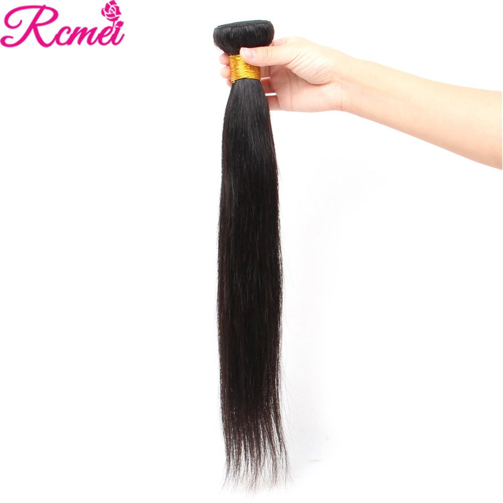 Image 4 - Brazilian Straight Human Hair Weave Bundles with Closure 3 Bundles With Lace Closure 4*4 Remy Human Hair Bundles Extensions-in 3/4 Bundles with Closure from Hair Extensions & Wigs