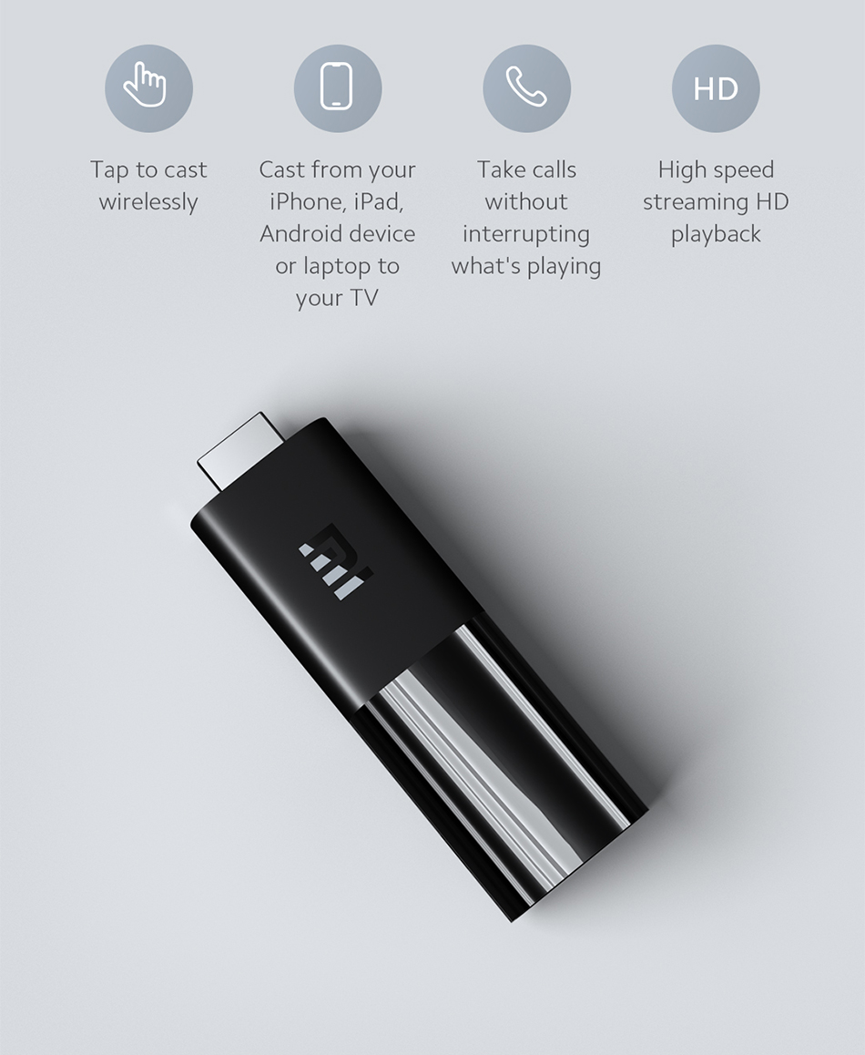 H7e0a9f6283d144e9a540d45b76b73175S Original Xiaomi MI TV Stick 2GB+8GB Android Version 9.0v Global Version